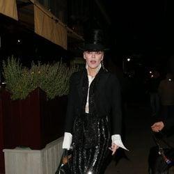 Daphne Guinness en la fiesta organizada por la revista AnOther en Londres