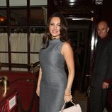 Kelly Brook en la fiesta organizada por la revista AnOther en Londres