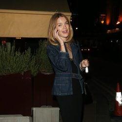 Natalia Vodianova en la fiesta organizada por la revista AnOther en Londres