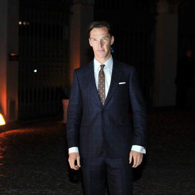 Benedict Cumberbatch en la fiesta de The Global Fund