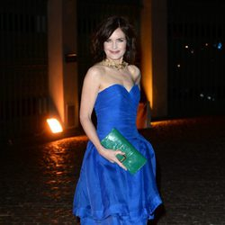 Elizabeth McGovern en la fiesta de The Global Fund