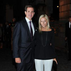 Pablo y Marie Chantal de Grecia en la fiesta de The Global Fund