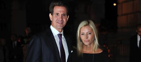 Pablo y Marie Chantal de Grecia en la fiesta de The Global Fund