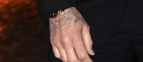 Victoria El Nuevo Tatuaje Que Luce David Beckham En Su Mano