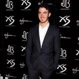 Kevin Jonas en la fiesta del 21 cumpleaños de Nick Jonas en Las Vegas
