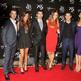 Nick Jonas celebra su 21 cumpleaños con sus hermanos Joe y Kevin y sus novias