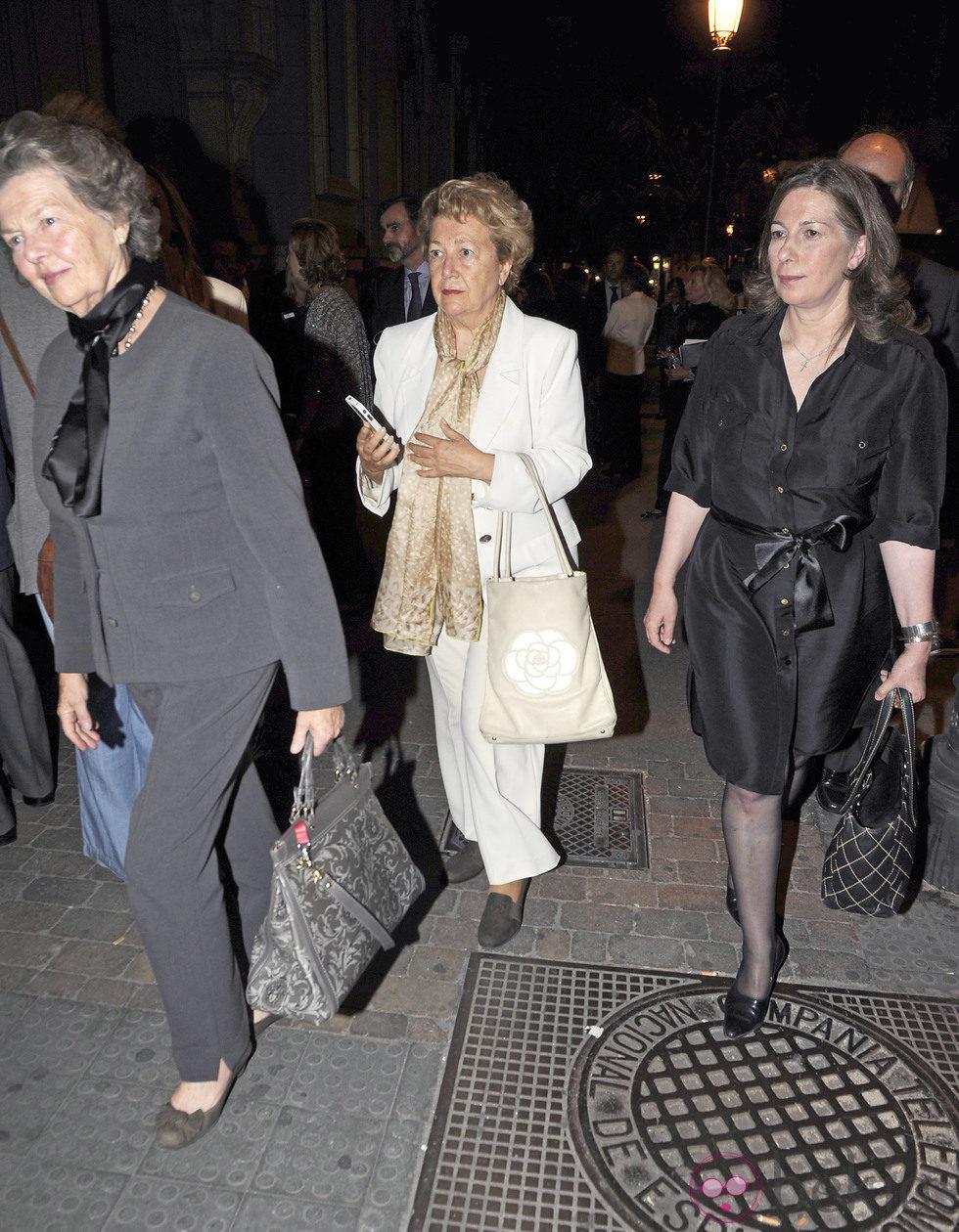 La Duquesa de Calabria en el funeral de la Duquesa de Medinaceli