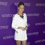 Mónica Hoyos en una fiesta organizada por Aristocrazy en Madrid