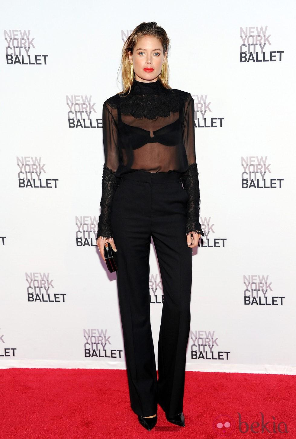 Doutzen Kroes en la Gala de Otoño del Ballet de Nueva York 2013