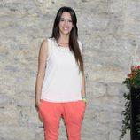 Almudena Cid en la presentación de 'Por arte de magia' en el FesTVal de Vitoria 2013