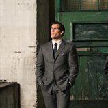 Henry Cavill en el rodaje de 'The Man from U.N.C.L.E.'