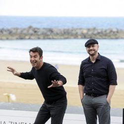 Arturo Valls y Juan José Campanella presentan 'Futbolín' en el Festival de San Sebastián 2013