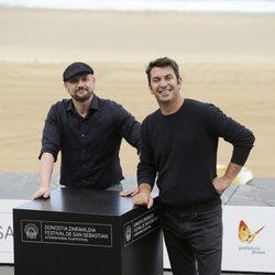 Arturo Valls y Juan José Campanella en el Festival de San Sebastián 2013