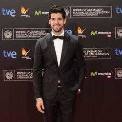 Miguel Ángel Muñoz en la gala de apertura del Festival de San Sebastián 2013