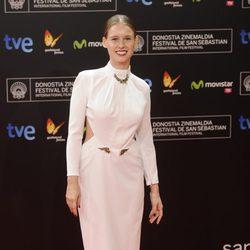 Manuela Vellés en la gala de apertura del Festival de San Sebastián 2013