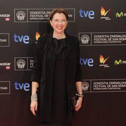 Annette Bening en la gala de apertura del Festival de San Sebastián 2013