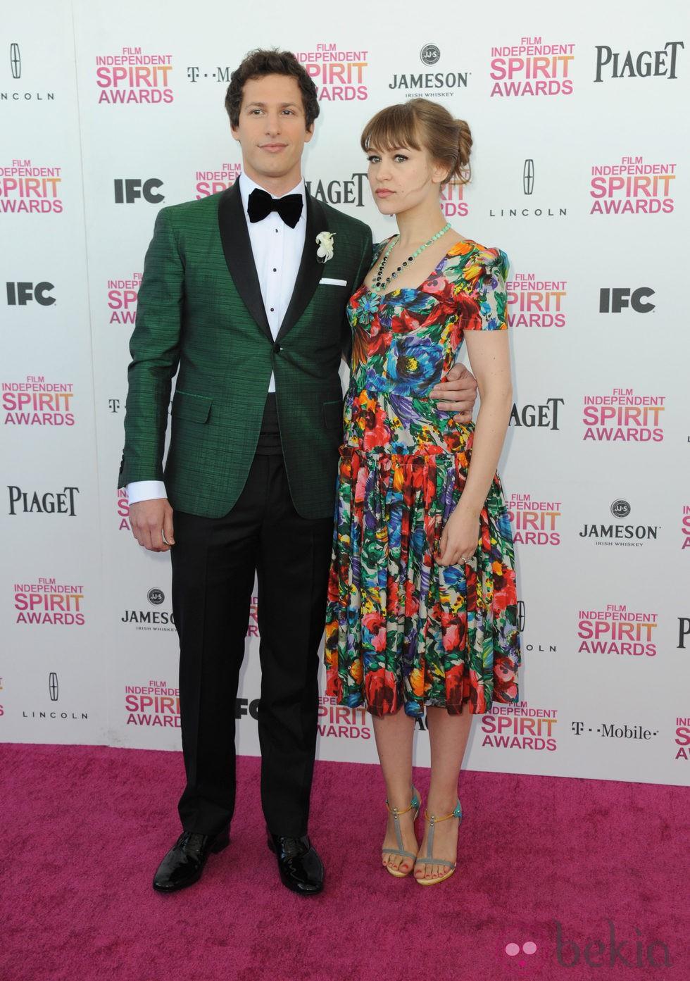 Andy Samberg y su mujer, Joanna Newson