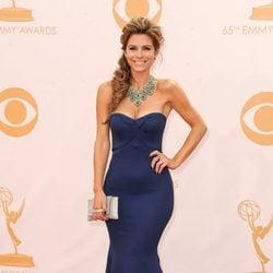 Maria Menounos en la alfombra roja de los Emmy 2013