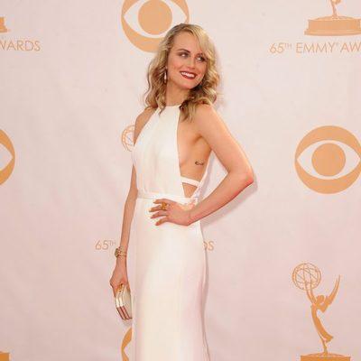Taylor Schilling en la alfombra roja de los Emmy 2013
