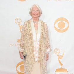 Ellen Burstyn en la alfombra roja de los Emmy 2013