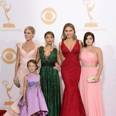 Las actrices de 'Modern Family' en la alfombra roja de los Emmy 2013