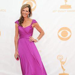 Allison Janney en la alfombra roja de los Emmy 2013