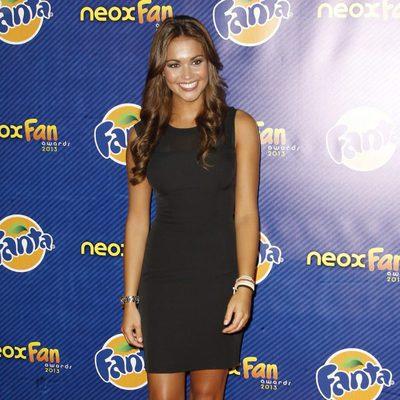 Lara Álvarez en los Neox Fan Awards 2013
