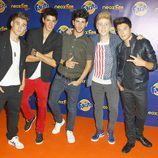 Auryn en los Neox Fan Awards 2013