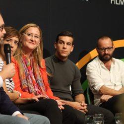 Presentación de 'Palmeras en la nieve' con Mario Casas en el Festival de San Sebastián 2013