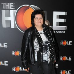 Maika en el estreno de 'The Hole' en Barcelona