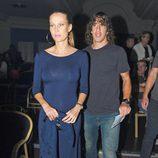 Carles Puyol y Vanesa Lorenzo en el estreno de 'The Hole' en Barcelona