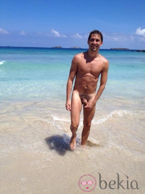 Paco León desnudo