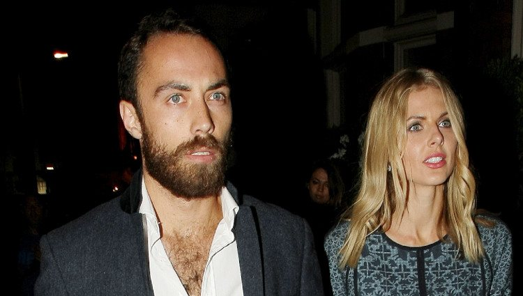James Middleton y Donna Air en Londres