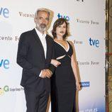 Imanol Arias y Aída Folch estrenan 'Vicente Ferrer' en el Festival de San Sebastián 2013