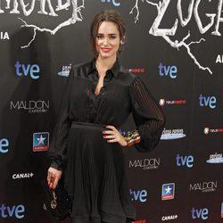 Alicia Sanz en el estreno de 'Las brujas de Zugarramurdi' en Madrid