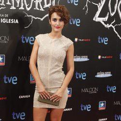 Megan Montaner en el estreno de 'Las brujas de Zugarramurdi' en Madrid