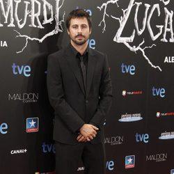 Hugo Silva en el estreno de 'Las brujas de Zugarramurdi' en Madrid