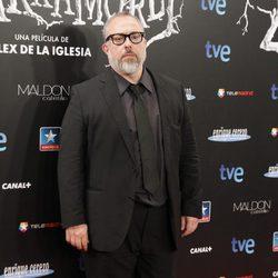 Álex de la Iglesia en el estreno de 'Las brujas de Zugarramurdi' en Madrid