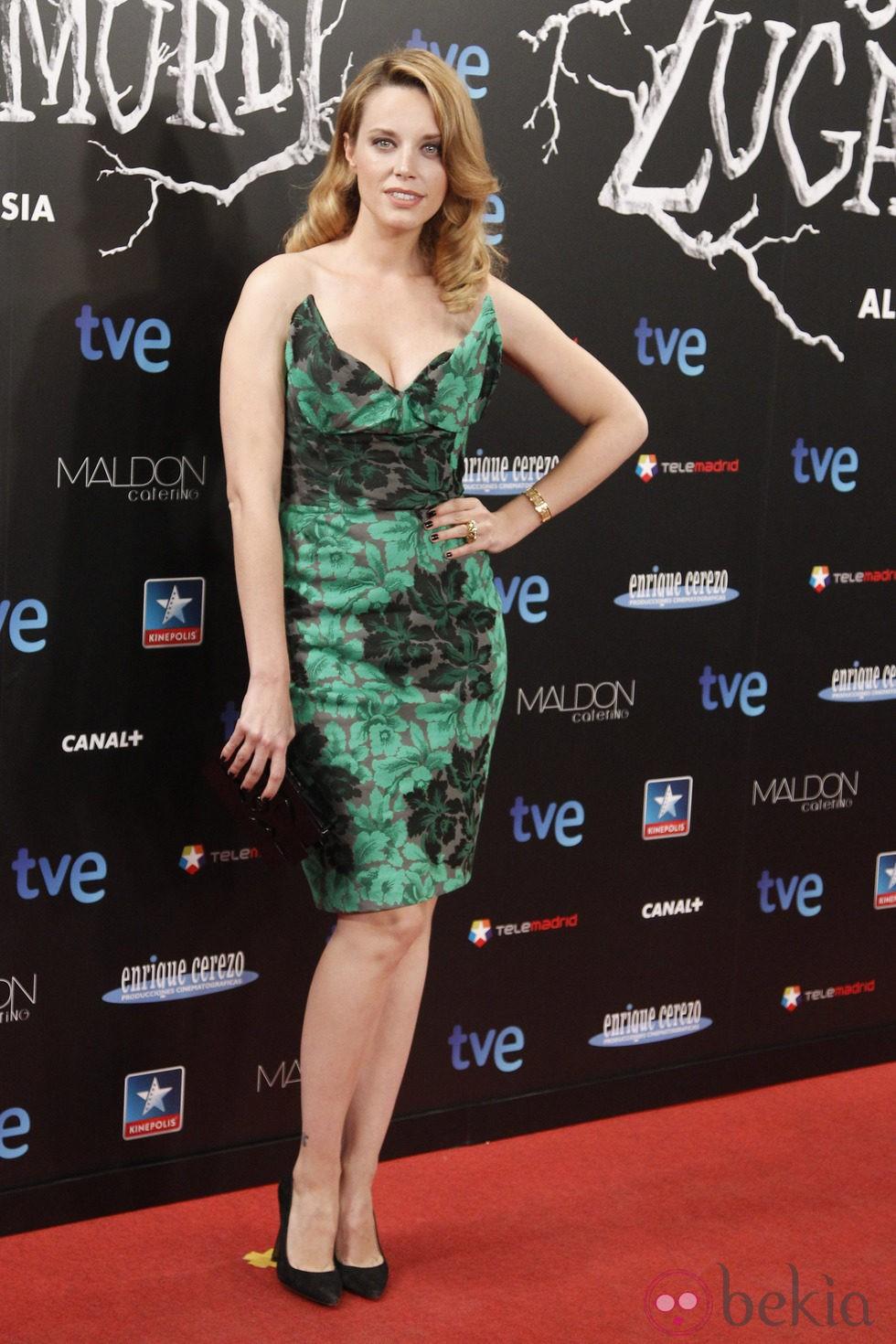 Carolina Bang en el estreno de 'Las brujas de Zugarramurdi' en Madrid