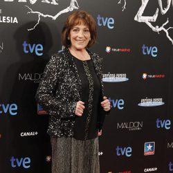 Carmen Maura en el estreno de 'Las brujas de Zugarramurdi' en Madrid