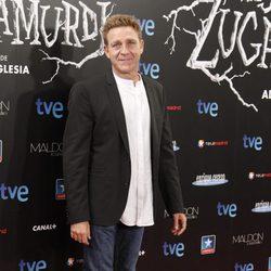 Juanjo Artero en el estreno de 'Las brujas de Zugarramurdi' en Madrid
