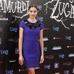 Dafne Fernández en el estreno de 'Las brujas de Zugarramurdi' en Madrid
