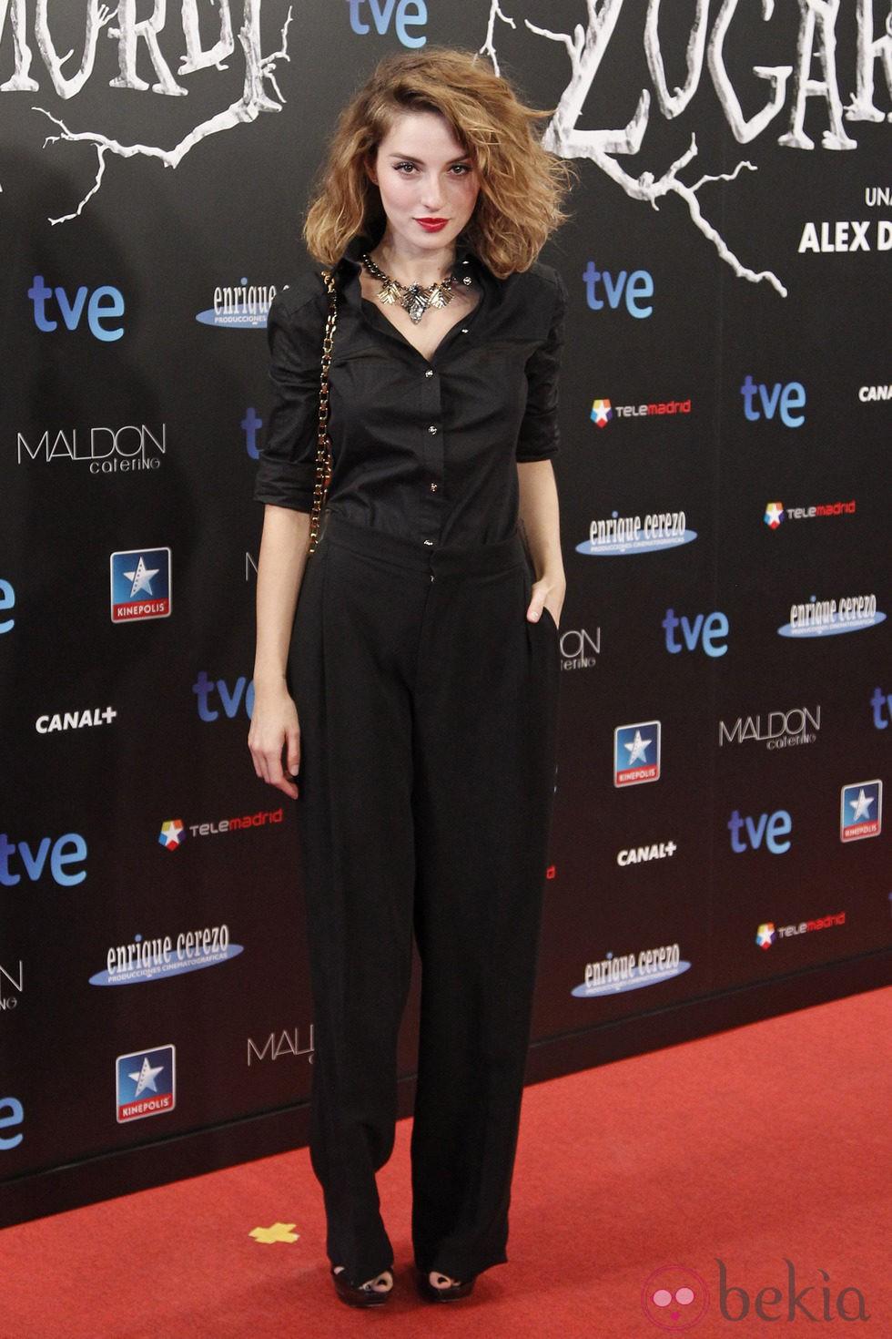 María Valverde en el estreno de 'Las brujas de Zugarramurdi' en Madrid