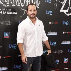 Ángel Martín en el estreno de 'Las brujas de Zugarramurdi' en Madrid