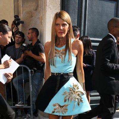 Anna Dello Russo en la Semana de la Moda de París primavera/verano 2014