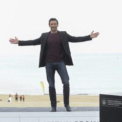 Hugh Jackman posa en el Festival de San Sebastián 2013
