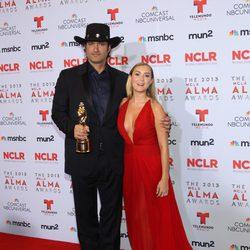 Robert Rodriguez y Alexa Vega en los premios ALMA 2013