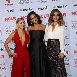 Alexa Vega, Rosario Dawson y Jessica Alba en los premios ALMA 2013