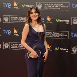 Adriana Ugarte en la gala de clausura del Festival de San Sebastián 2013