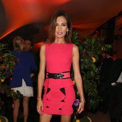Nieves Álvarez en la fiesta de Emilio Pucci en la Semana de la Moda de París primavera/verano 2014
